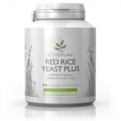 Cytoplan Red Rice Yeast Plus *now in smaller caps and with organic red rice yeast, 90 Caps # 3235