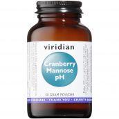 Viridian Cranberry Mannose pH 50g Powder # 402