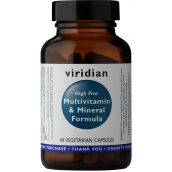Viridian HIGH FIVE Mulivitamin & Mineral Formula # 111
