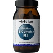 Viridian HIGH ONE Vitamin B1 with B-Complex # 232