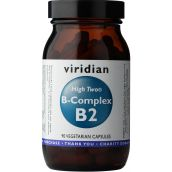 Viridian HIGH TWO Vitamin B2 with B-Complex # 237
