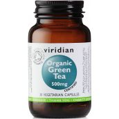 Viridian Organic Green Tea Leaf 500mg # 953