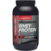 Lamberts Whey Protein Strawberry (1000 g) powder # 7002