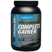 Lamberts Complete Gainer Strawberry ( 1816 g ) powder # 7005