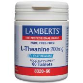 Lamberts L-Theanine 200mg ( 60 Tablets) # 8320