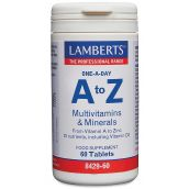 Lamberts A-Z Multi - Wide spectrum of nutrients at 100% of RDA # 8429