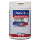 Lamberts FEMA 45+ multi vitamins & minerals ( 180 Tablets) # 8437