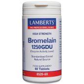 Lamberts Bromelain (1000GDU) 60 Tablets # 8520