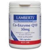 Lamberts Co-Enzyme Q10 30mg (180 Caps ) # 8531