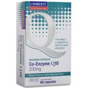 Lamberts Co-Enzyme Q10 200mg  (60 Capsules) # 8534