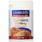 Lamberts Turmeric 20,000mg Extract ( 120 Tablets ) # 8571