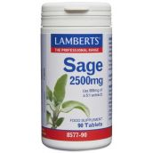 Lamberts Sage 2500mg (2.5% rosmarinic acid)  90 Tablets # 8577