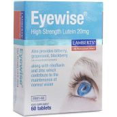 Lamberts Eyewise High strength Lutein 20mg ( 60 Tablets)  # 8581