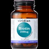 Viridian Biotin 2500ug # 203