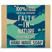 Faith In Nature Fragrance Free Seaweed Pure Vegitable Soap 100g