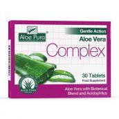 Aloe Pura Gentle Action Aloe Vera Complex -30 Tablets