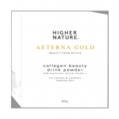 Higher Nature Aeterna Gold Collagen Beauty Drink Powder # AED080