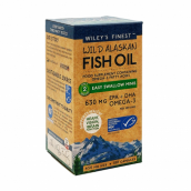 Wiley's Finest Easy Swallow Minis - 180 Softgels