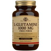 Solgar L-Glutamine 1000 mg Tablets -Pack of 60 # 1254