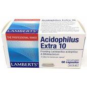 Lamberts Acidophilus Extra 10  ( 60 Caps ) # 8418