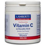 Lamberts Ascorbic Acid (250 g) # 8103