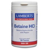 Lamberts Betaine HCI (180 Tablets) # 8404