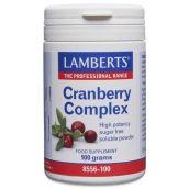 Lamberts Cranberry Complex Powder (100g) # 8556