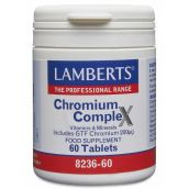Lamberts GTF Chromium 200mg ( 60 tablets) #8236