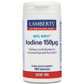 Lamberts Kelp Tablets ( Iodine 150mg ) 180 tabs #8240
