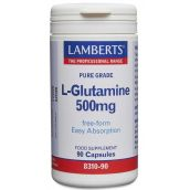 Lamberts L-Glutamine 500mg 90 Caps #8310