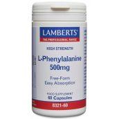 Lamberts L-Phenylanine 500mg (60 Capsules) # 8321