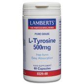 Lamberts L-Tyrosine 500mg (60 Capsules) # 8329