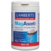 Lamberts Magasorb® Magnesium Powder 375mg(As Citrate) 165g Powder #8242
