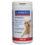 Lamberts Multi Vitamin And Mineral For Dogs 90 Tabs #8999