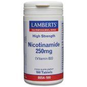 Lamberts Nicotinamide 250mg (100 Tablets) # 8054