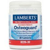Lamberts Osteoguard® (Calcium 500mg/Magnesium 125mg Plus Boron & Vitamins D & K) 30 Tabs #8226