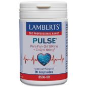Lamberts Pulse® Newpure Fish Oil 1300mg And Coq10 100mg 90 Caps #8536