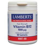 Lamberts Vit B-12 1000mg ( 60 Tablets) #8087