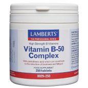 Lamberts Vitamin B-50 Complex ( 250 Tablets ) # 8029