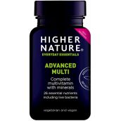 Higher Nature Advanced Nutrition Complex 90 Capsules # QAN090