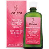 Weleda Rosemary Invigorating Bath Milk - (200ml)