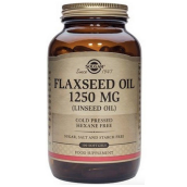 Solgar Cold Pressed Flaxseed Oil 1250mg (100 Capsules) # 1070