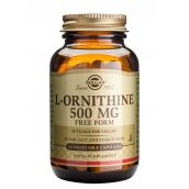 Solgar L-Ornithine 500mg (50 Vegicaps) # 2060