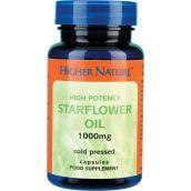 Higher Nature Starflower Oil 1000mg # ST1090